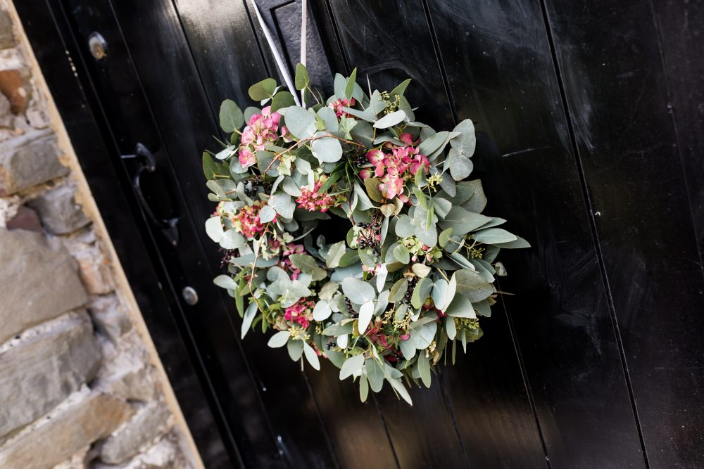 Daisy lane Floral Design Christmas Wreath Workshop Clevedon