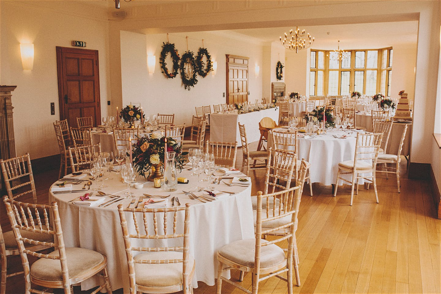 Wedding flowers at Coombe Lodge near Bristol