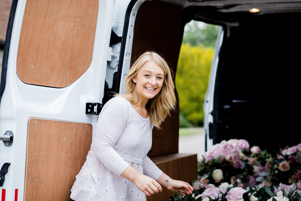a day in the life of a wedding florist