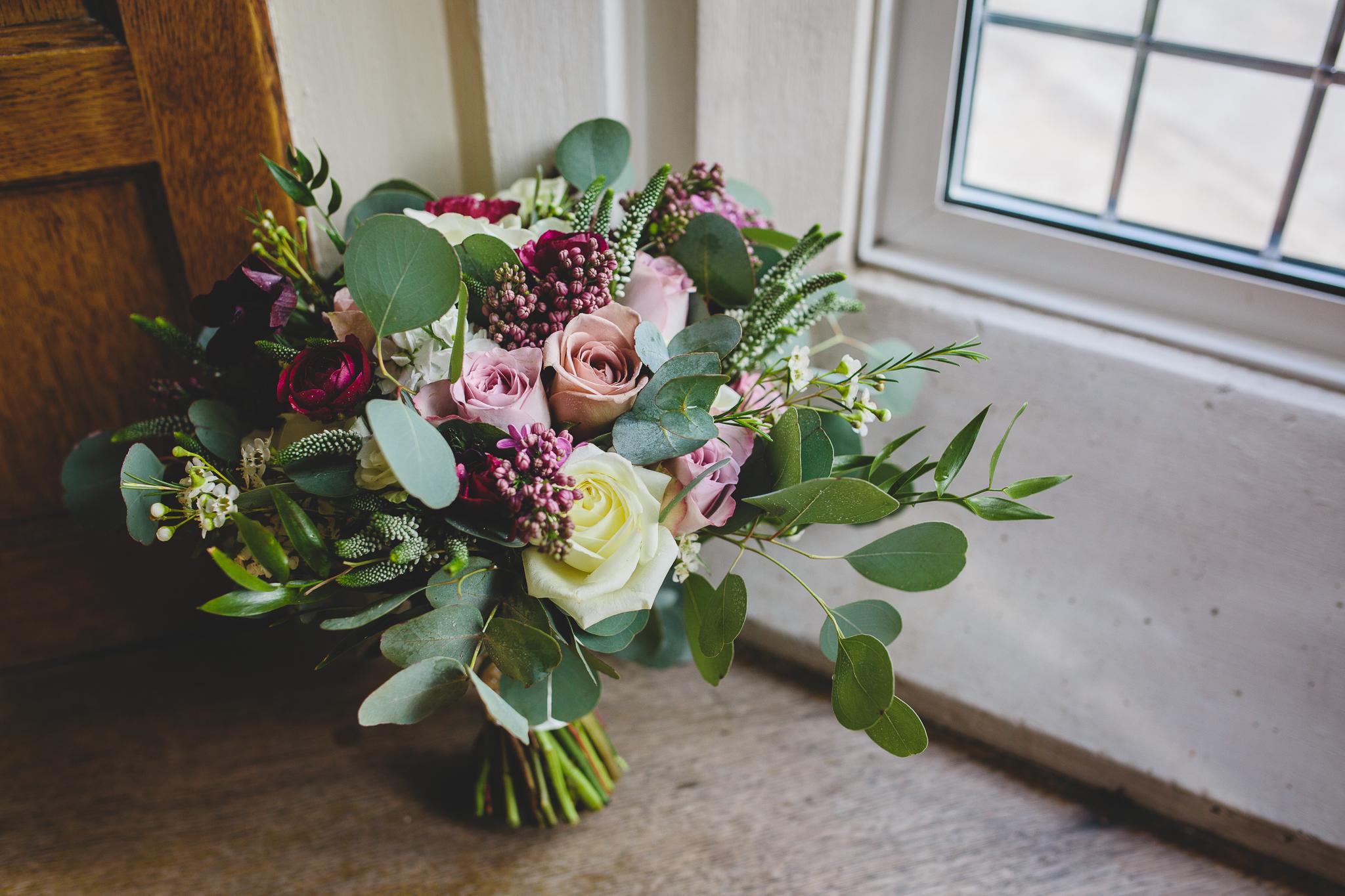 Daisy Lane Floral Design - Vintage pink bridal bouquet