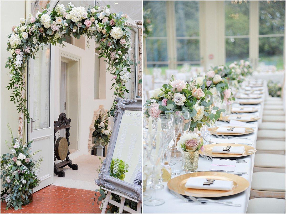 Daisy Lane Floral Design wedding flowers Clevedon Hall
